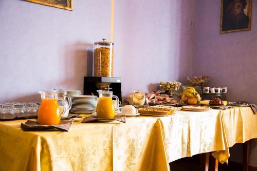 Colazione disponibile per gli ospiti di Albergo La Coccinella