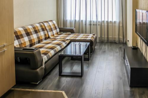 Гостиная зона в GUESTHOUSE Апартаменты Премиум
