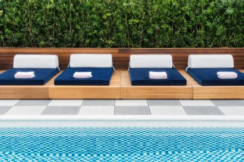 The swimming pool at or near Perry Lane Hotel, a Luxury Collection Hotel, Savannah