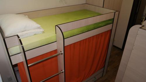 A bunk bed or bunk beds in a room at Foxhole Hostel