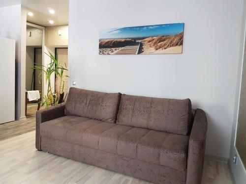 Гостиная зона в Seaside Studio
