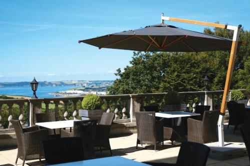 A restaurant or other place to eat at Trenython Manor Hotel & Spa