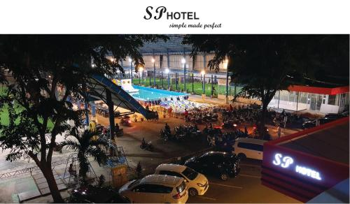 A view of the pool at SP hotel or nearby
