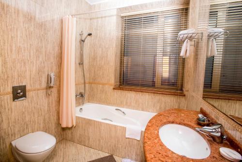 Ванная комната в Отель Европа