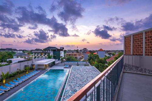 A view of the pool at Eastin Ashta Resort Canggu or nearby