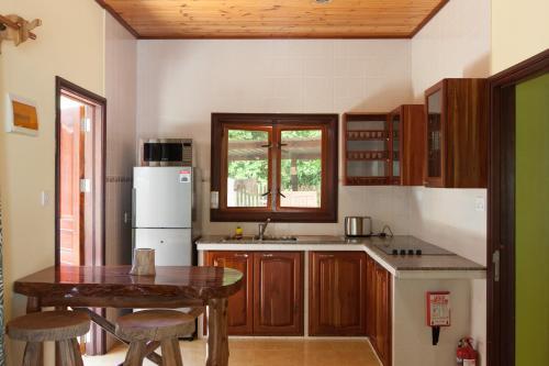 A kitchen or kitchenette at Anse Severe Beach Villas