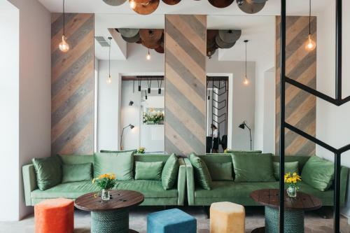 A seating area at Avena Boutique Hotel by Artery Hotels