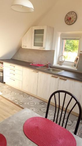 Кухня или мини-кухня в Penzion Malaika