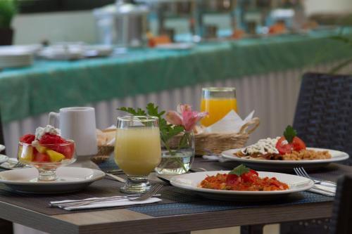 Un restaurante o sitio para comer en La Gloria de Calvillo