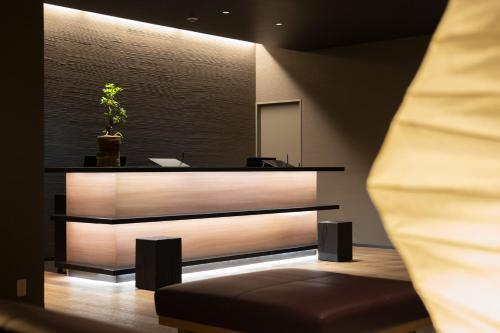 京都四條室町黎索酒店大廳或接待區