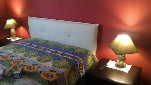 Letto o letti in una camera di Salentino