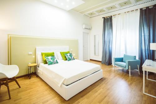 Letto o letti in una camera di Bluemoon Sardinia