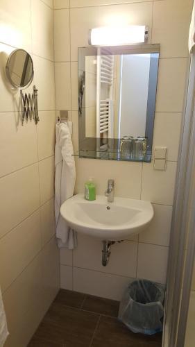Ein Badezimmer in der Unterkunft Gasthof Paradiesgartl