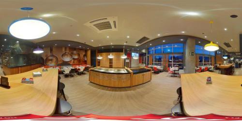 Um restaurante ou outro lugar para comer em ibis Natal
