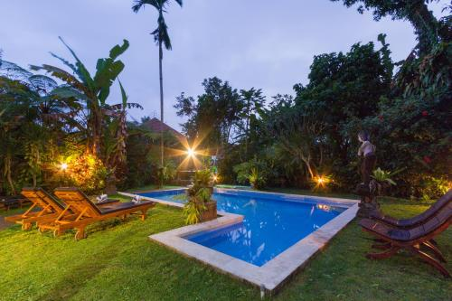 The swimming pool at or close to Bali Eco Adventure & Retreat Center
