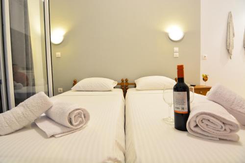 Ένα ή περισσότερα κρεβάτια σε δωμάτιο στο Marzi Boutique Hotel