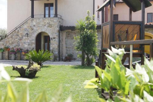 A garden outside Agriturismo Mammarella