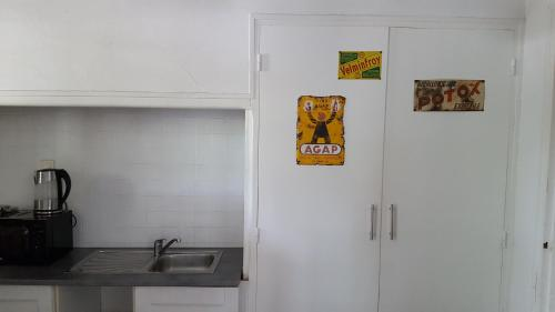 A kitchen or kitchenette at Leucateloc
