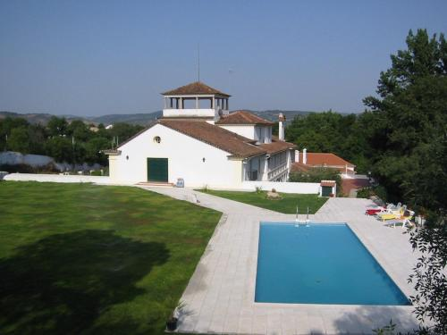 A view of the pool at Solar De Alvega or nearby