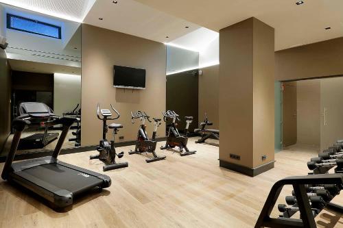 Palestra o centro fitness di Eurostars Catedral