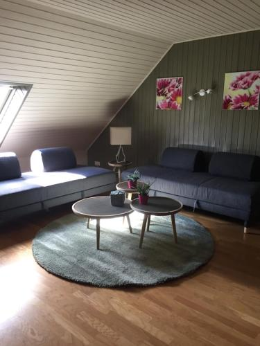 A seating area at Haus BuylBergh