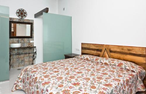 Cama o camas de una habitación en Finca Isolina Hotel Boutique