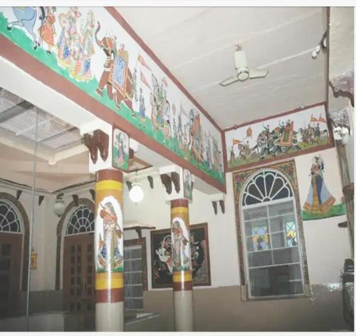 The lobby or reception area at Kasera Paradise