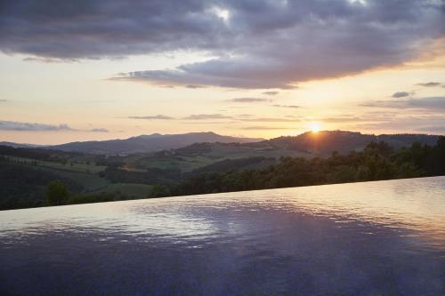 The swimming pool at or close to Castello di Casole, A Belmond Hotel, Tuscany