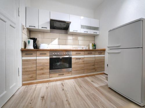 Küche/Küchenzeile in der Unterkunft Pension Haus Friederike
