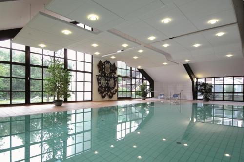 The swimming pool at or near Johannesbad Vitalhotel Jagdhof