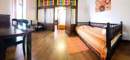 A seating area at Sri Lanka Hotel ETHNOMIR