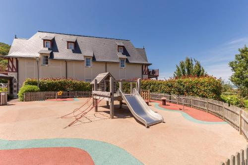 Children's play area at Pierre & Vacances Premium Residence & Spa Houlgate