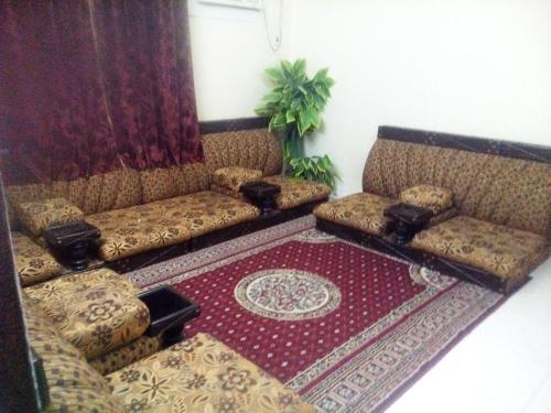 Uma área de estar em Istorat Alnaseem