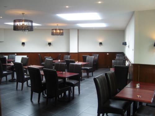 Ein Restaurant oder anderes Speiselokal in der Unterkunft Badhotel Zeecroft