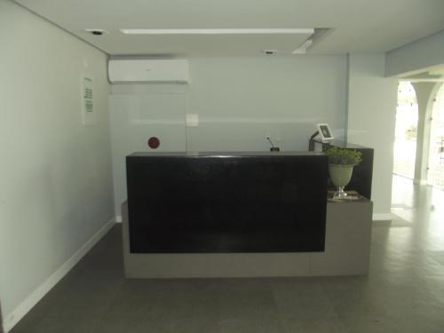A bathroom at Hotel São Domingos