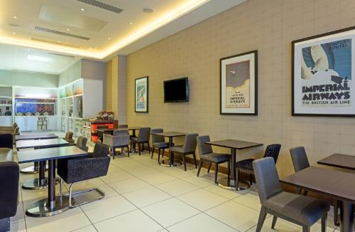 A restaurant or other place to eat at Hampton by Hilton London Croydon