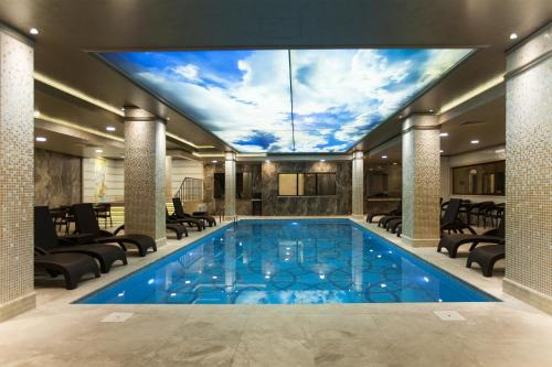 The swimming pool at or near Miss Istanbul Hotel & Spa