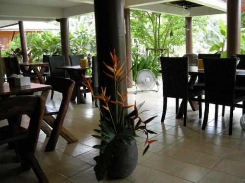 A restaurant or other place to eat at Baan Thai House