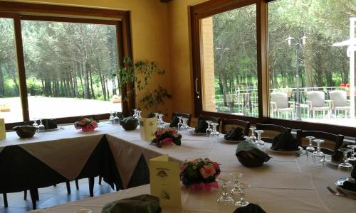 A restaurant or other place to eat at Valle Dei Pini