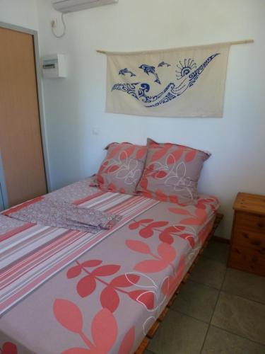 Cama ou camas em um quarto em Farehani 2