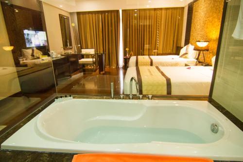 Phòng tắm tại Vietsovpetro Resort
