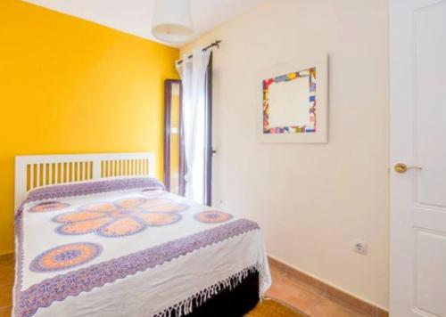 Cama o camas de una habitación en Leo Zahara City center