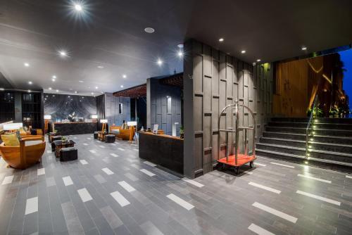 The lobby or reception area at The Yana Villas Hua Hin