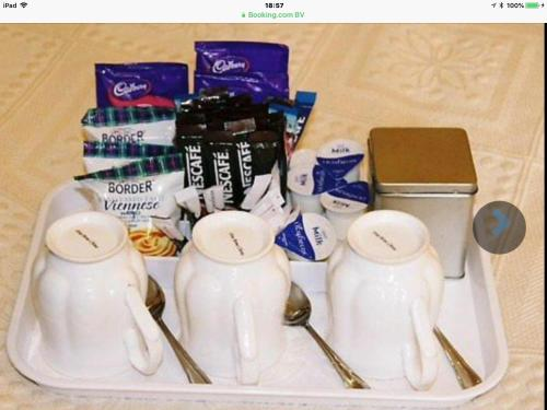 Coffee and tea-making facilities at South Park Guest House