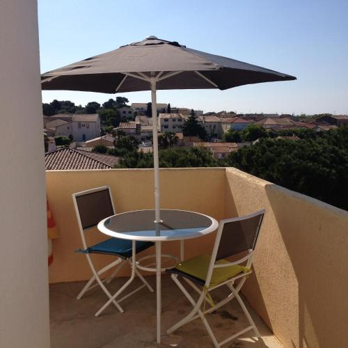 A balcony or terrace at Studio Hesperides
