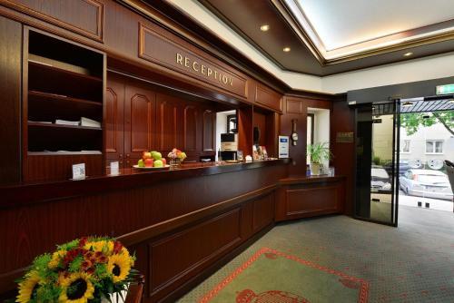 El vestíbulo o zona de recepción de Hotel Imperial