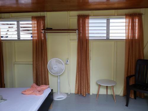 A bathroom at Sea n sun Guest House