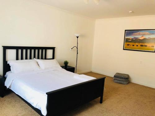 A bed or beds in a room at Summit guest house