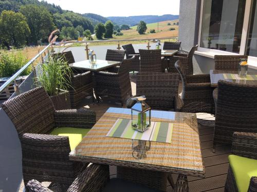 A restaurant or other place to eat at Hotel am Brünnchen