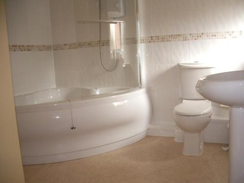 A bathroom at Compton House